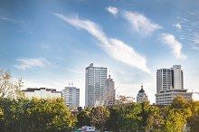 Fort Wayne Downtown Skyline
