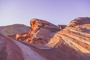 Red Rock Curves