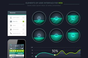 Elements of User Interface for Web