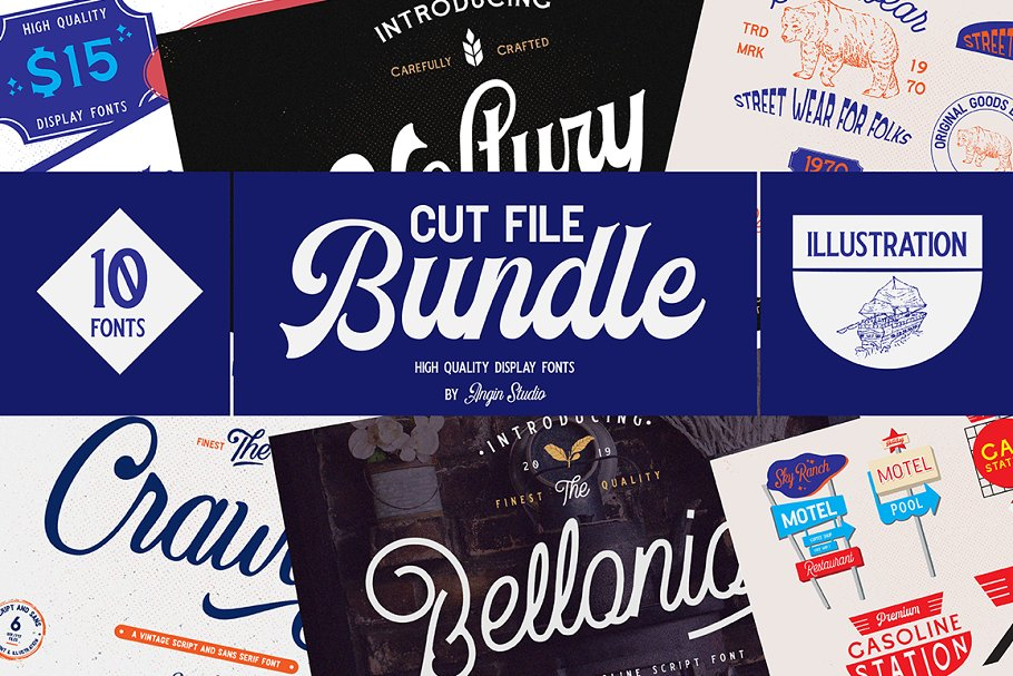 Angin Studio Cut file bundle Vol.1