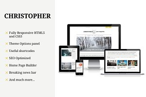 Christopher-Magazine WordPress Theme