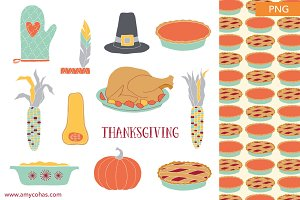 Thanksgiving: Clip Art