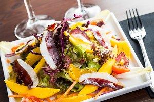 Delicious healthy salad