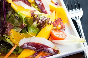 Ham salad detail