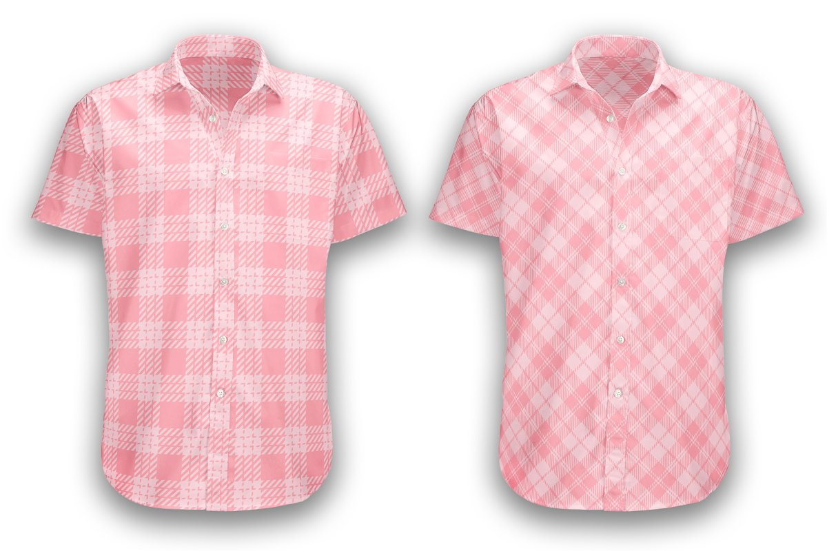 Set Tartan of Valentine's Day. in Patterns - product preview 1