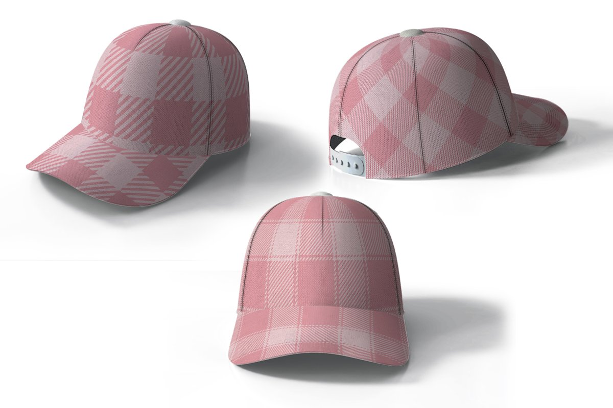 Set Tartan of Valentine's Day. in Patterns - product preview 2
