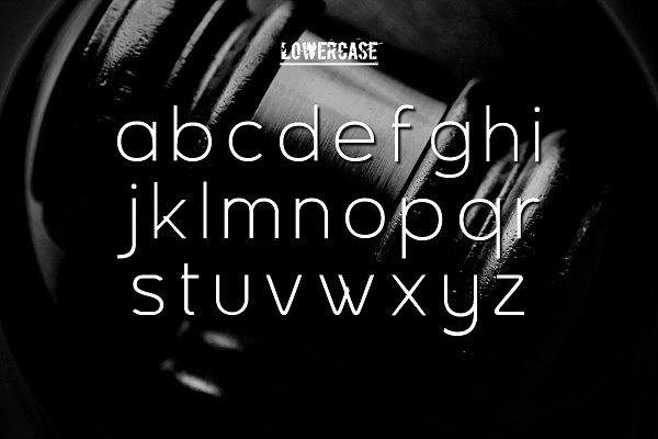 Guilty - design font