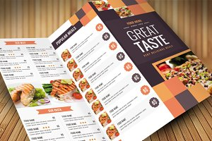 Clean Food Menu 2