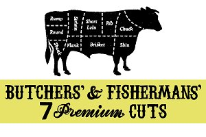 Farm Meat and Fish Cuts