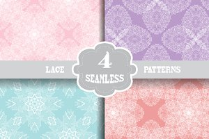 Lace Seamless Patterns