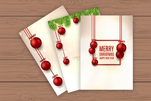 Elegant Christmas flyers