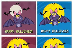 Happy Vampire Bat Collection