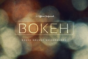 15 Bokeh Grunge Backgrounds V1