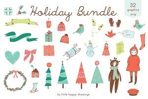 Holiday Bundle | Clip Art