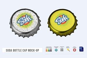 Soda Bottle Cap Mock-Up