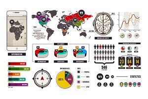 Infographic Vector Elemets