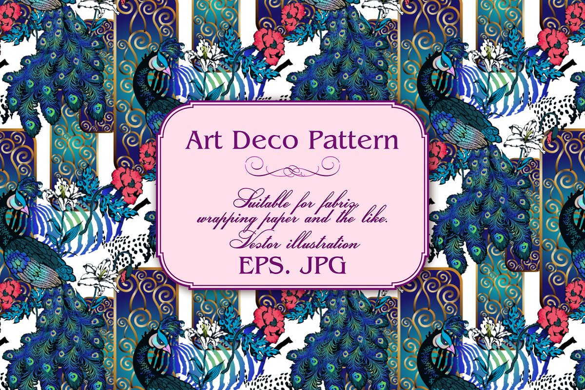 Art Deco Pattern in Patterns - product preview 6