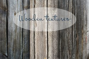 Three wooden textures