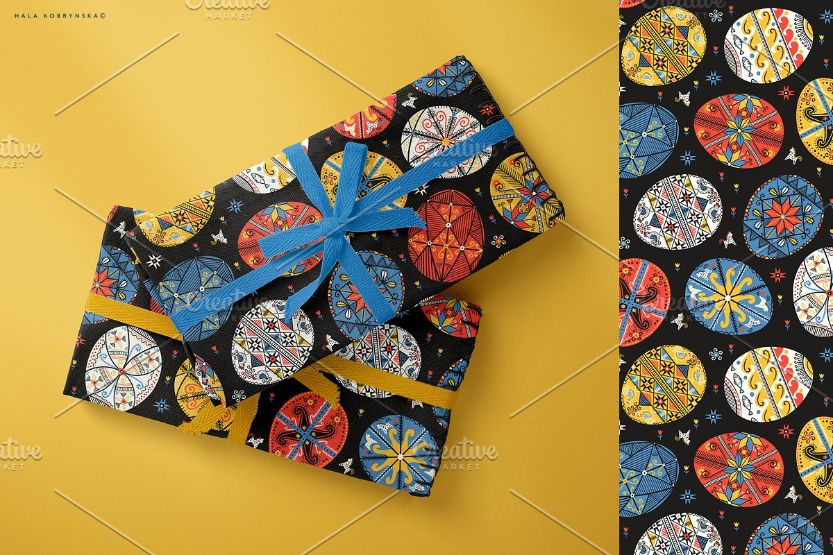 Pysanky. Decorated Easter eggs in Patterns - product preview 4