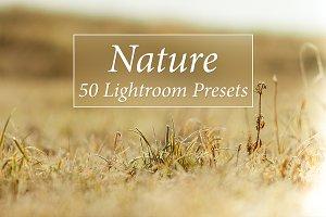 50 Nature Lr Presets