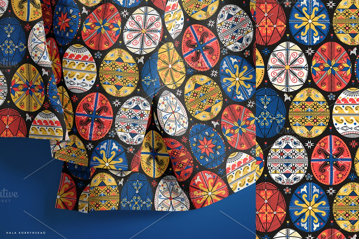 Pysanky. Decorated Easter eggs in Patterns - product preview 2