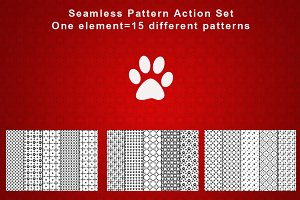 PS. Seamless Patterns Actions
