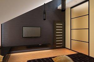 oriental living room 3ds max render