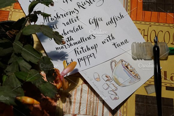 Watercolor coffee set-4 in Illustrations - product preview 2
