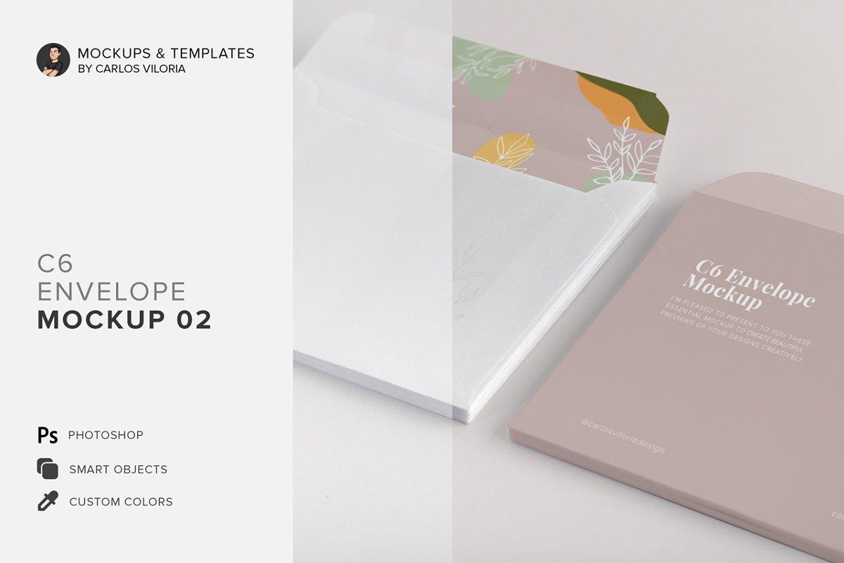 C6 Envelope Mockup 02
