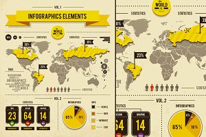 Infographics Vector Elements #1