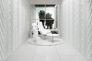 3ds max minimalistic interior