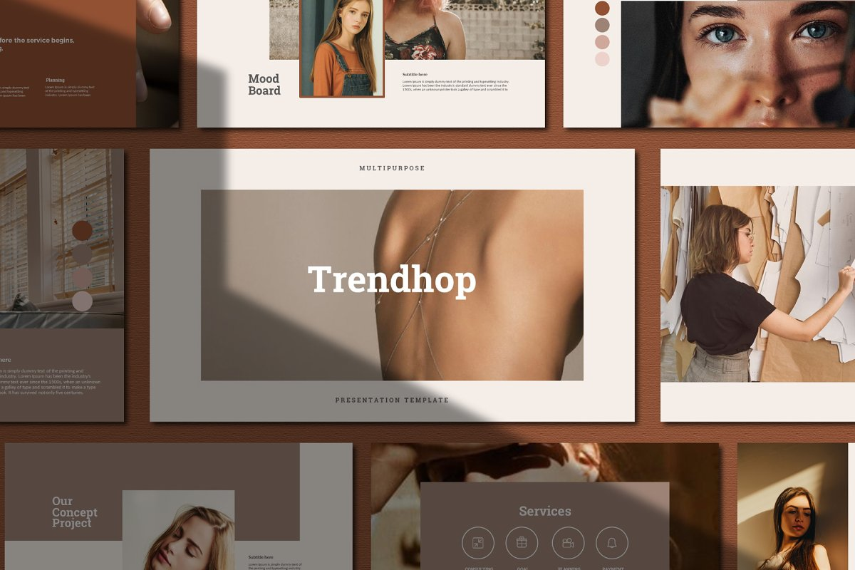Trendhop - PowerPoint Template