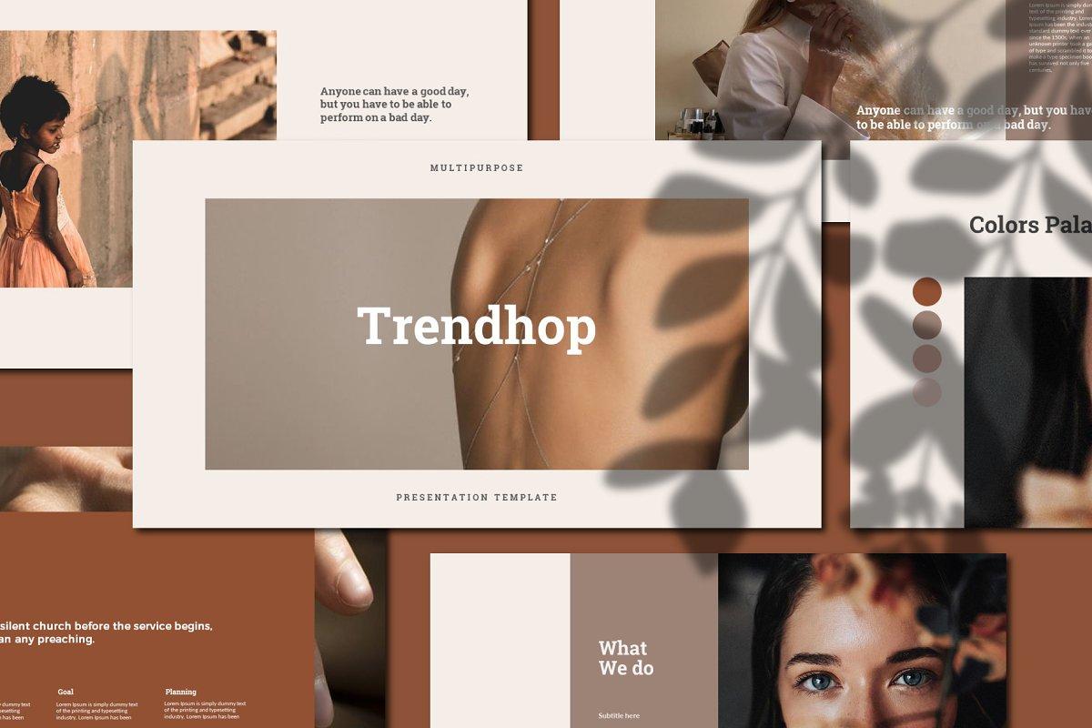 Trendhop - Keynote Template
