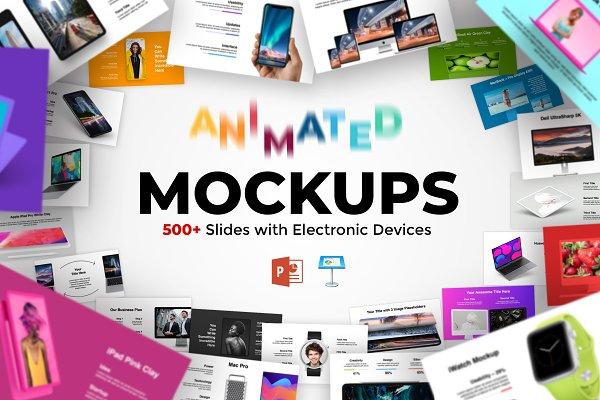 Animated Mockups Presentation Bundle