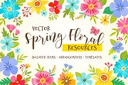 Spring floral resources