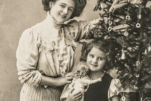 Antique Christmas Greetings