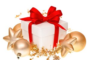 Christmas decoration gift box