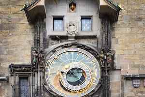 Orloj. Medieval Astronomic clock