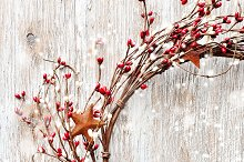 Christmas wreath, decoration