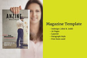 Amazing Magazine Template