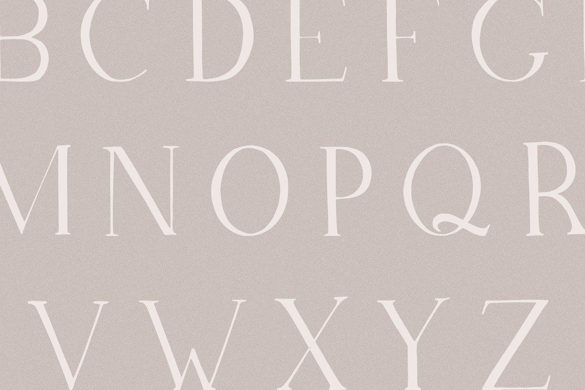 Lunaria - Handmade Serif Font