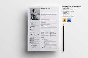 Professional Resume v.1