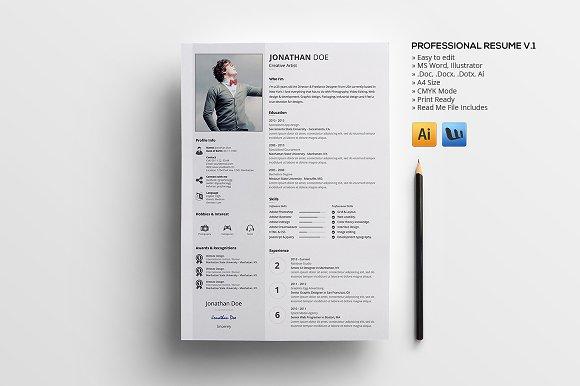 Professional Resume v.1 - Resumes