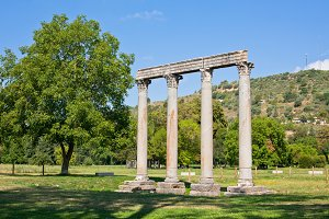 Roman Temple of Apollo in Riez