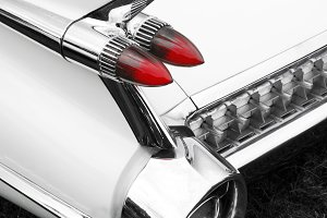 Vintage 1950s Car Tail Light