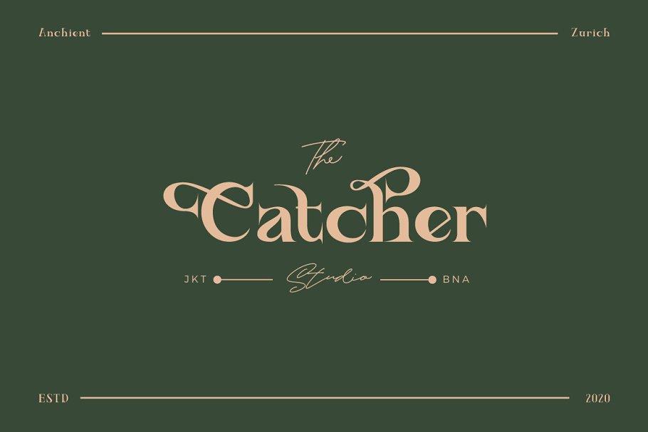 Best Ancient Zurich - Elegant Serif Logo Vector