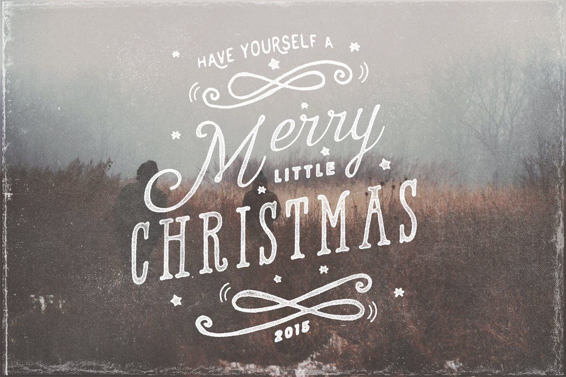 Christmas Photo Overlays 2015 ~ Illustrations ~ Creative Market