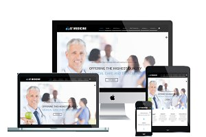 AT Medicine-Hospital Joomla Template