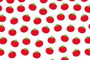 Tomatoes pattern