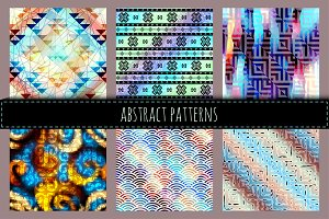 Seamless patterns.
